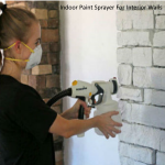 Indoor Paint Sprayer For Interior Walls